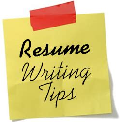 How to write a resume for first job